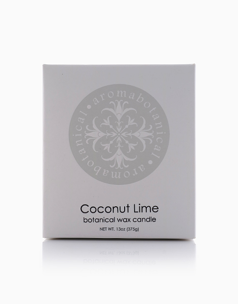 2-Wick Candle  by Aromabotanical Philippines | Coconut Lime