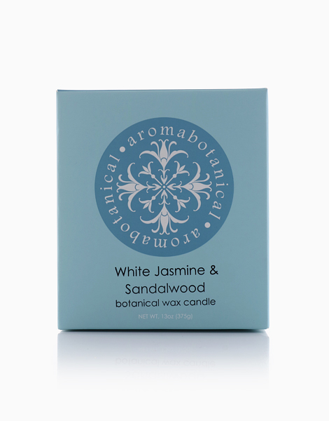 2-Wick Candle  by Aromabotanical Philippines | White Jasmine and Sandalwood