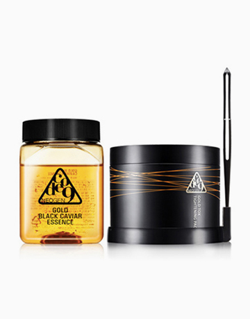 Code 9 Gold Black Caviar Essence & Gold Tox Tightening Pack Kit by Neogen