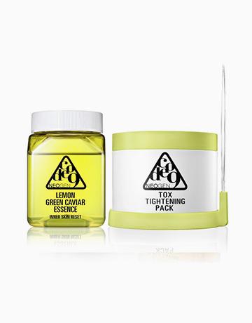 Code 9 Lemon Green Caviar Essence & Tox Tightening Pack Kit by Neogen