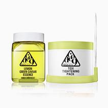 Code 9 lemon green caviar essence   tox tightening pack kit