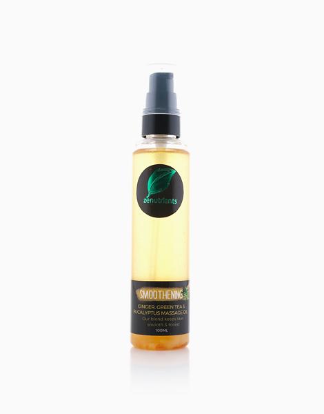 Smoothening Ginger, Green Tea & Eucalyptus Massage Oil by Zenutrients