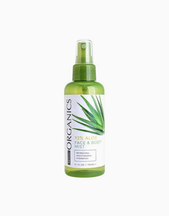 Organics 92% Aloe Face & Body Mist by BENCH