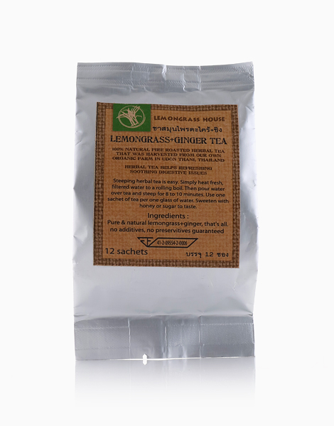 Lemongrass & Ginger Tea Sachet (35g) by Lemongrass House
