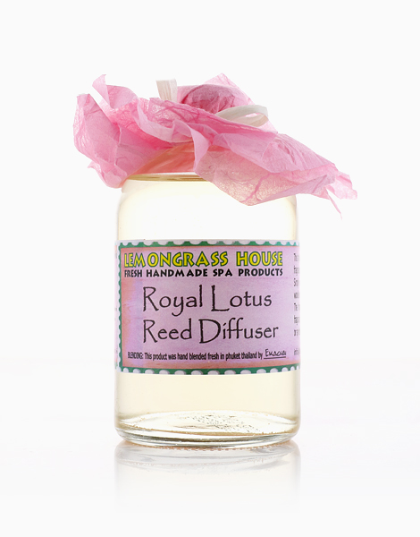 Royal Lotus Reed Oil Diffuser (120ml) by Lemongrass House