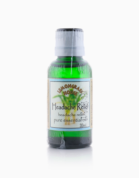 Headache Relief Essential Oil (30ml) by Lemongrass House