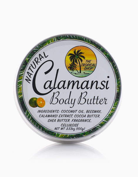 Natural Calamansi Body Butter by The Tropical Shop