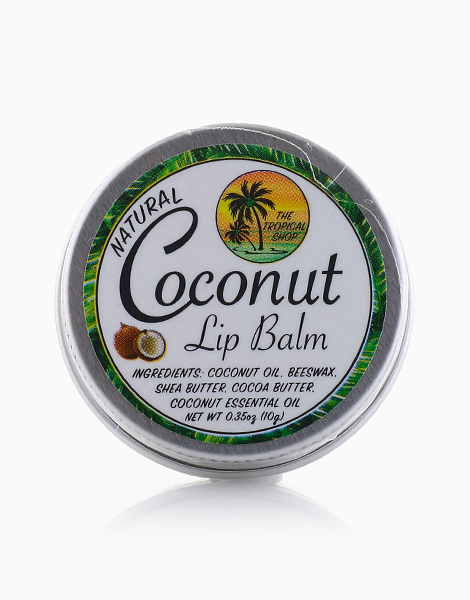 Natural Coconut Lip Balm by The Tropical Shop