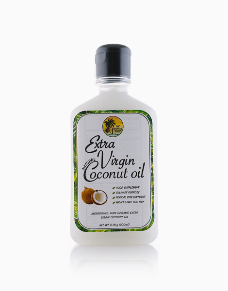 Natural Extra Virgin Coconut Oil (200ml) by The Tropical Shop