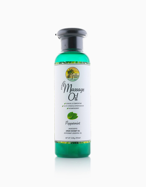Natural Massage Oil (Peppermint) by The Tropical Shop