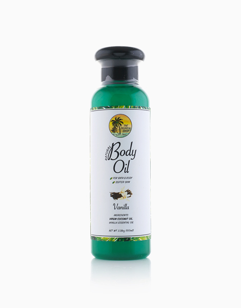 Natural Body Oil (Vanilla) by The Tropical Shop