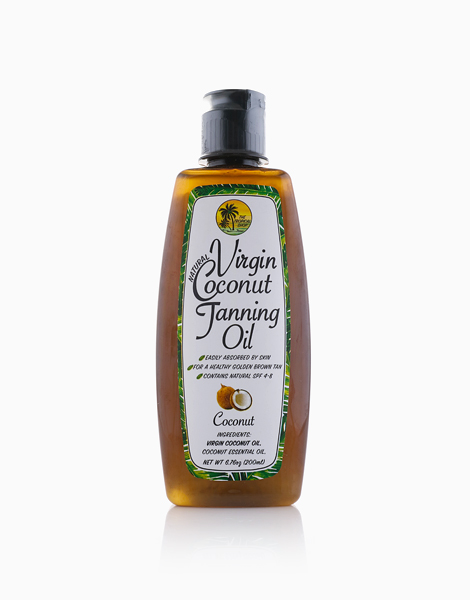 Natural Virgin Coconut Tanning Oil by The Tropical Shop