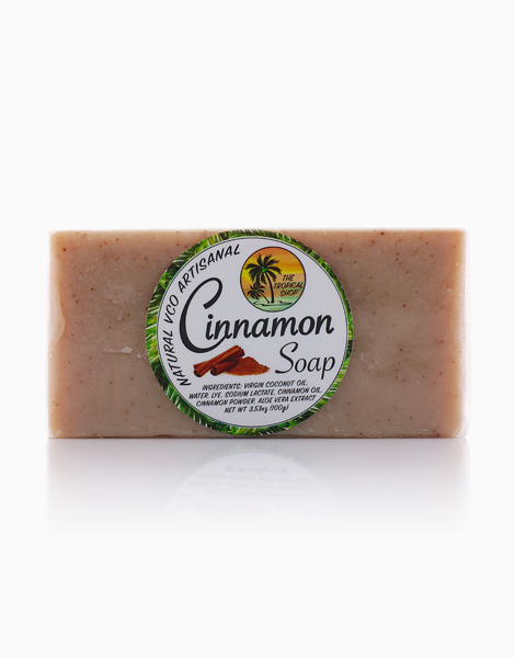Natural VCO Artisanal Cinnamon Soap by The Tropical Shop