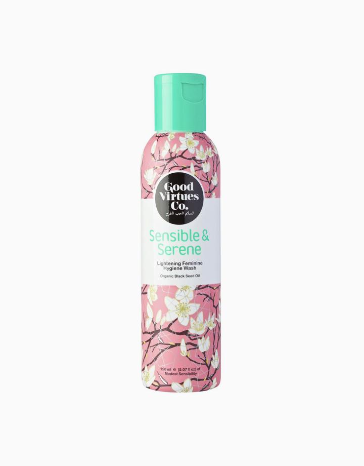 Sensible & Serene Lightening Feminine Hygiene Wash (150ml) by Good Virtues Co