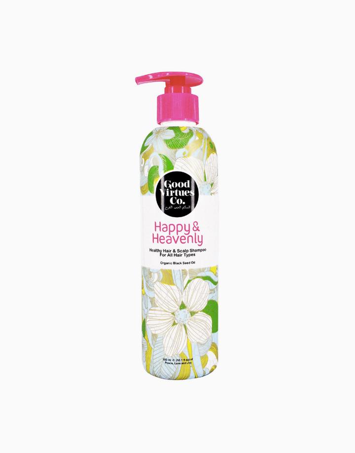 Happy & Heavenly Healthy Hair & Scalp Shampoo for All Hair Types (300ml) by Good Virtues Co