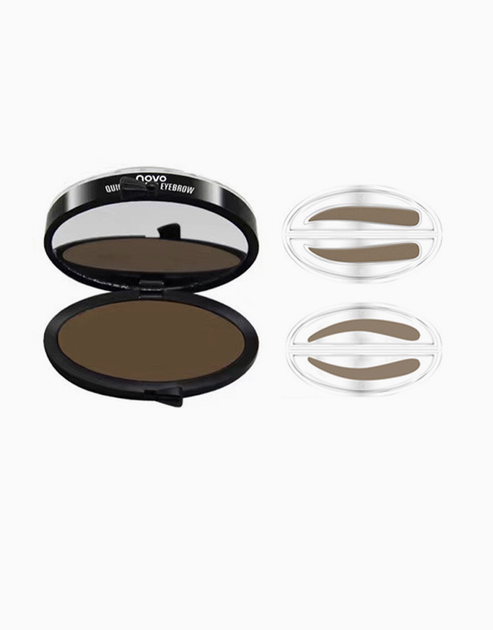 Eyebrow Stamp Set by Novo Cosmetics | Light Brown