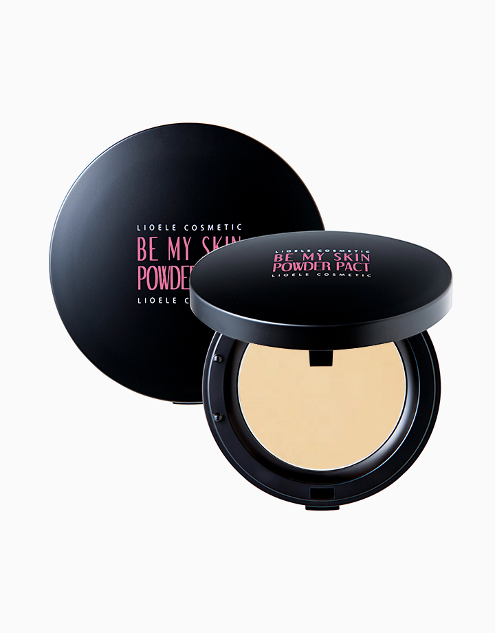 Be My Skin Powder Pact by Lioele | #21 Blooming Ivory