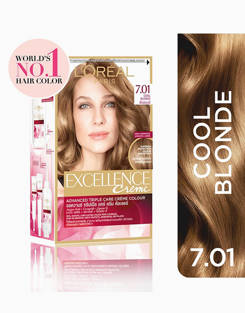 L'Oreal Paris Excellence Creme by L'Oréal Paris | 7.01 Cool Blonde