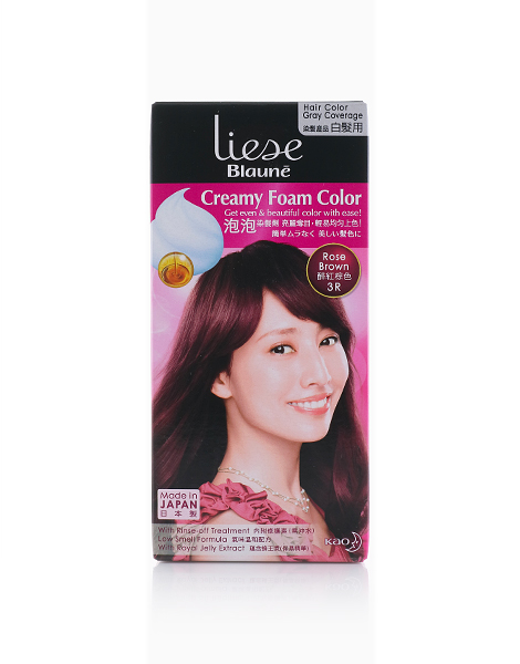 Liese Blaune Creamy Foam Color by Liese | ROSE BROWN