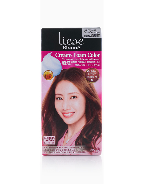 Liese Blaune Creamy Foam Color by Liese | GOLDEN BROWN