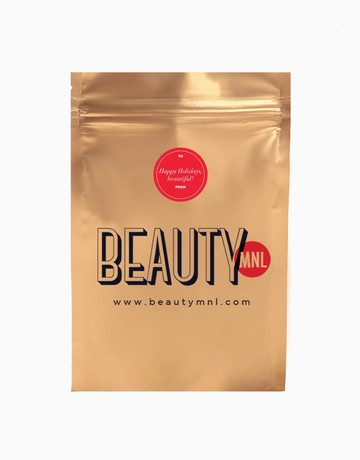 Gold Holiday Pouch (Large) by BeautyMNL
