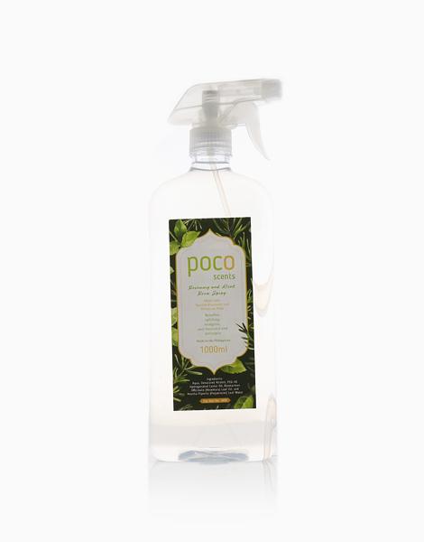 Cuatro Rociar Room Spray Rosemary and Mint (1L) by Poco Scents