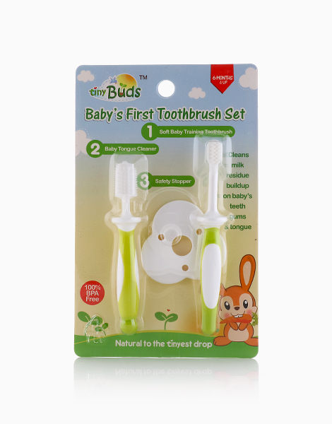 Baby's First Toothbrush Set by Tiny Buds