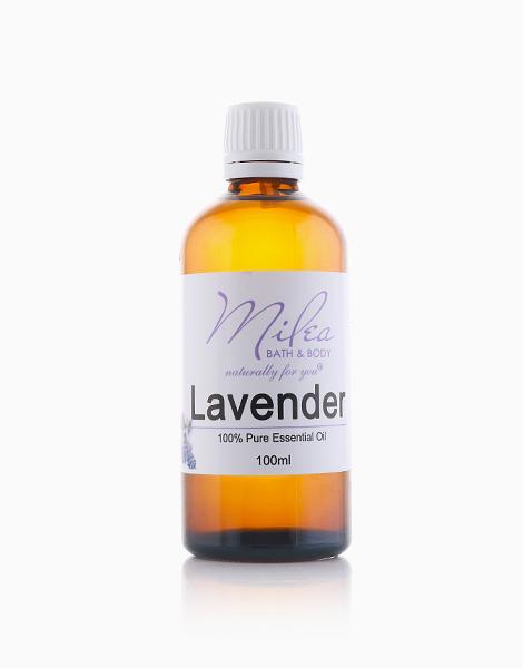 All Organics 100% Pure Lavender Essential Oil (100ml) by Milea