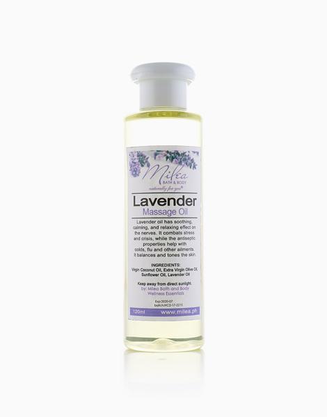 Lavender Massage Oil (120ml) by Milea