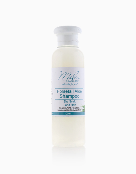 All Organics Horsetail and Aloe Vera Shampoo (100ml) by Milea