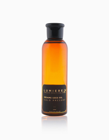 Cold-Pressed Sesame Oil by Lumiere Organiceuticals