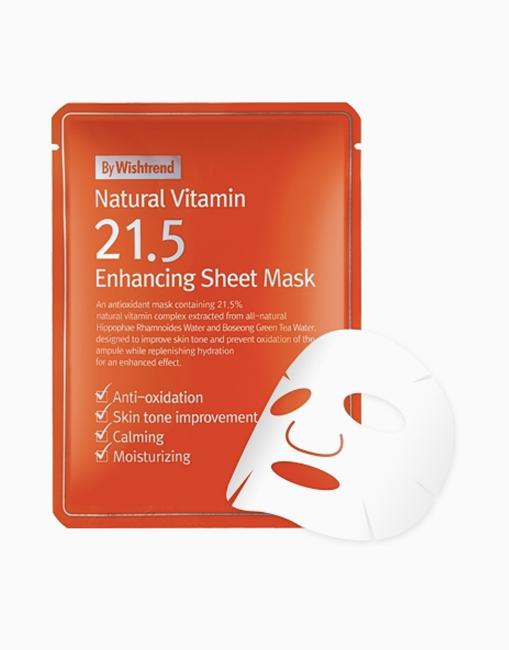 Natural Vitamin 21.5 Enhancing Sheet Mask by By Wishtrend