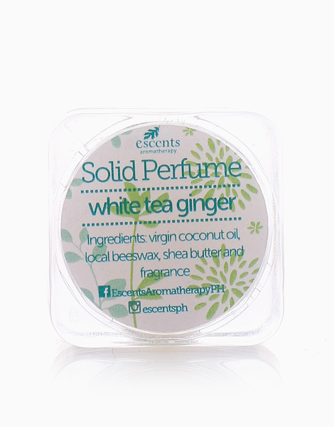 Solid Perfume (5g) by Escents PH | White Tea Ginger