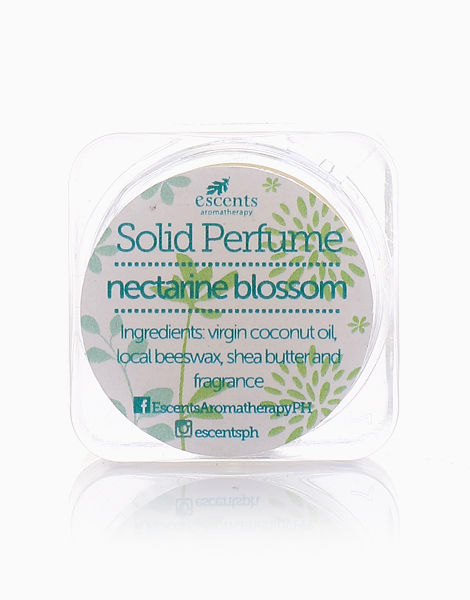 Solid Perfume (5g) by Escents PH | Nectarine Blossom