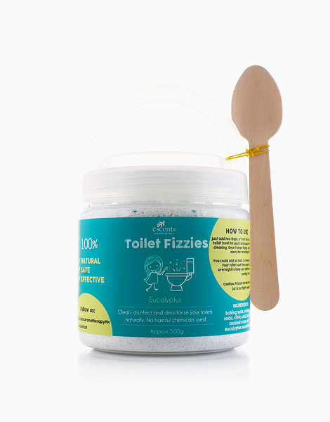 Small Toilet Fizzies  by Escents PH | Eucalyptus