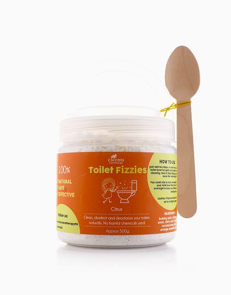 Small Toilet Fizzies  by Escents PH | Citrus