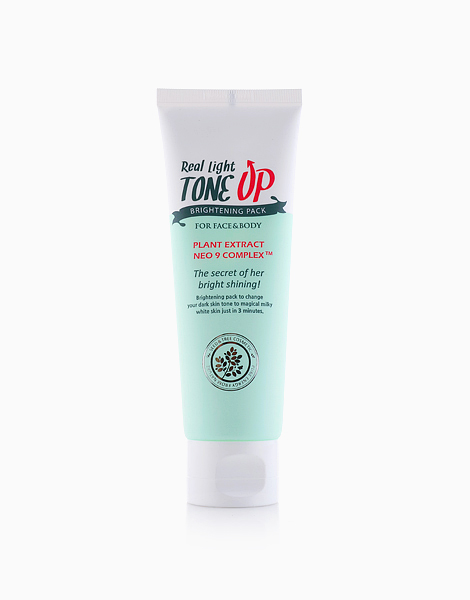 Real Light Tone Up Brightening Pack by Seed & Tree