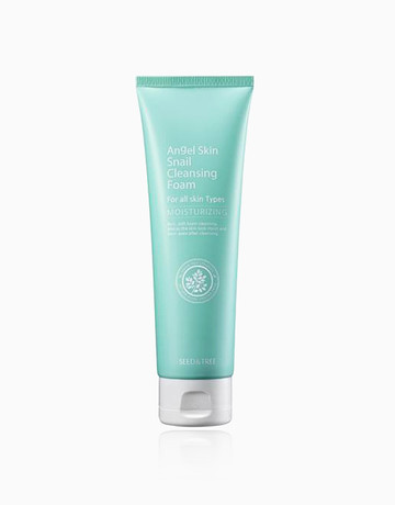 Snail Cleansing Foam Wash by Seed & Tree