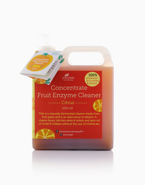 Natural Concentrate Fruit Enzyme Cleaner by Escents PH