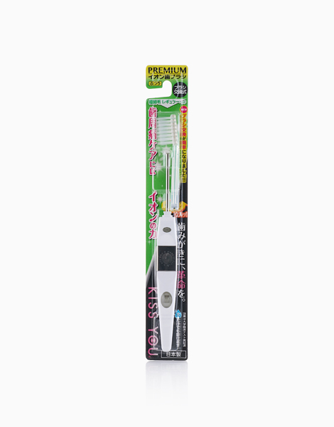 Kiss You Ionic Toothbrush with Toothbrush Head (Adult) by Kiss You Ionic Toothbrush | White