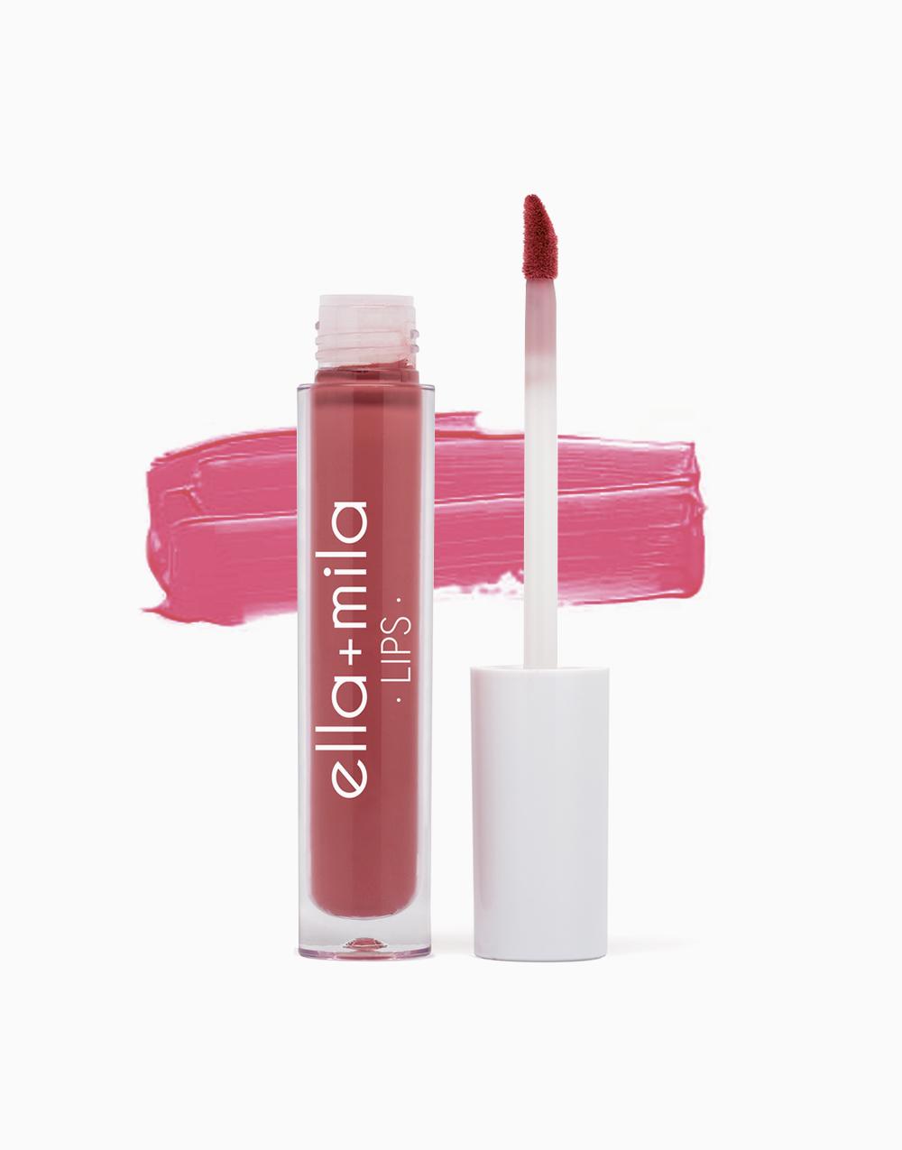 Creamy Liquid Lipstick by Ella + Mila   Laced Up