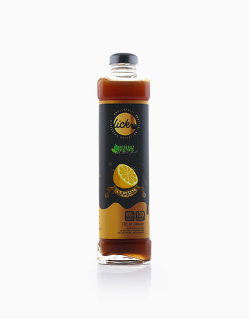 Sicilian Lemon Iced Tea by Lick Iced Tea
