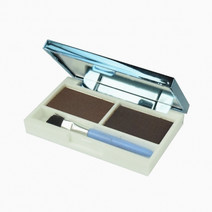 San san eyebrow powder duo chocolatedark brown