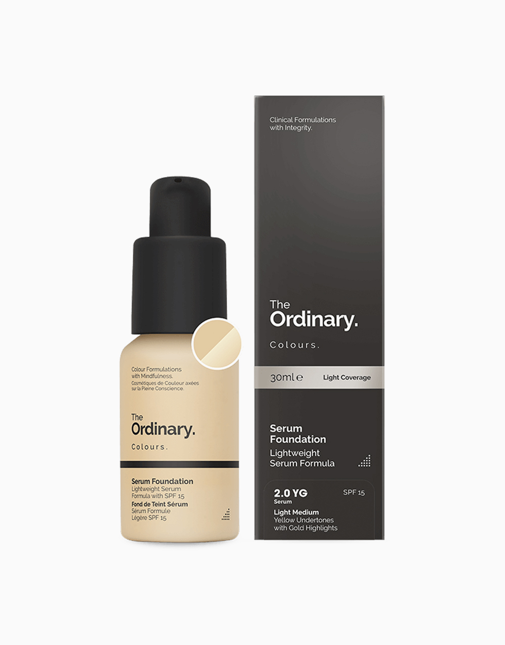Serum Foundation by The Ordinary | 2.0YG