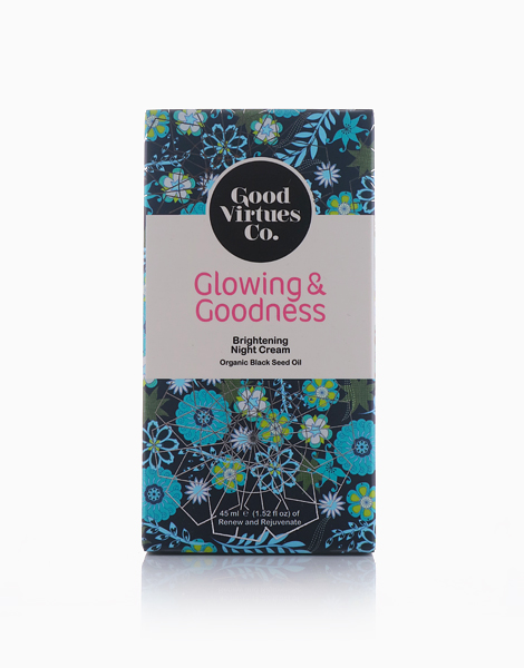 Glowing & Goodness Brightening Night Cream by Good Virtues Co