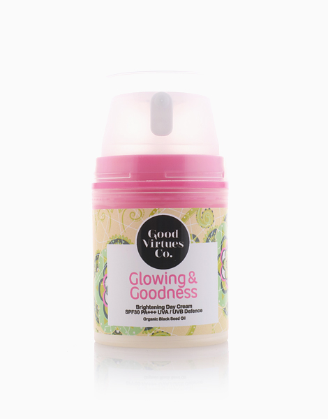 Glowing & Goodness Brightening Day Cream by Good Virtues Co