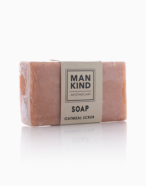 Oatmeal Scrub Soap by Mankind Apothecary Co.