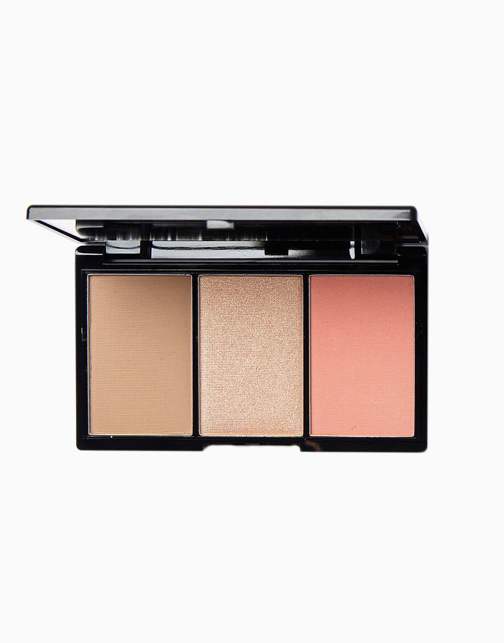 Contour, Blush & Highlight Palette by BLK Cosmetics | Sun-Kissed