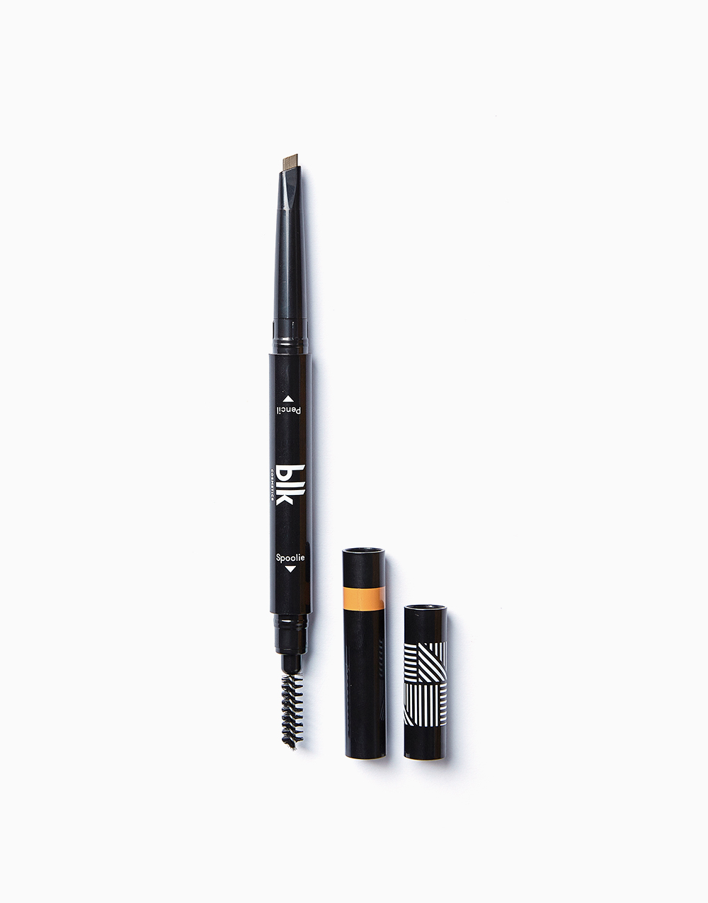 Brow Sculpting Pencil Duo by BLK Cosmetics | Taupe