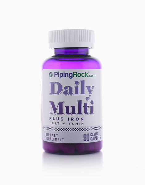 Daily Multi With Iron (90 Caplets) by Piping Rock